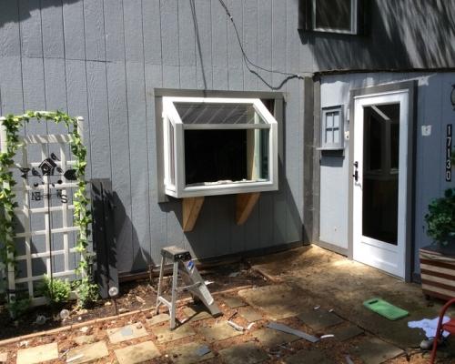 window installation progress photo