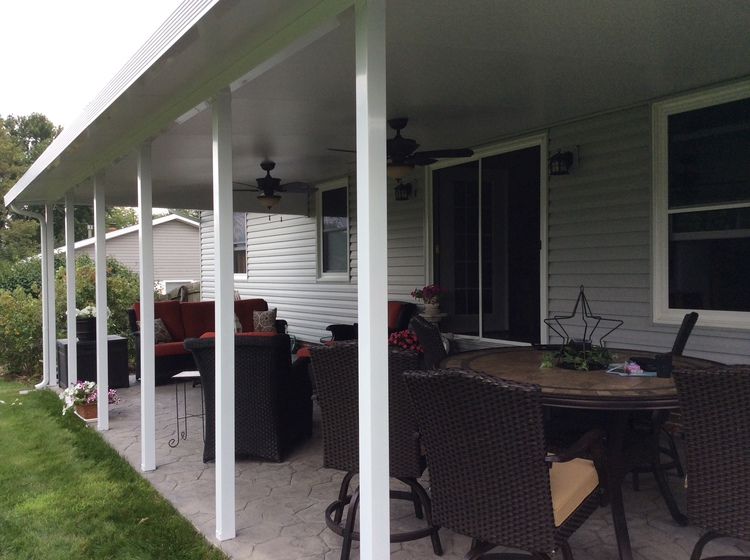 photo of a patio cover