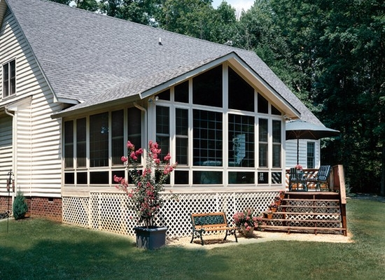 4 seasons sunroom installation photo