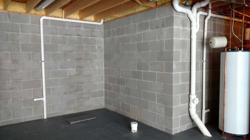 basement remodel photo