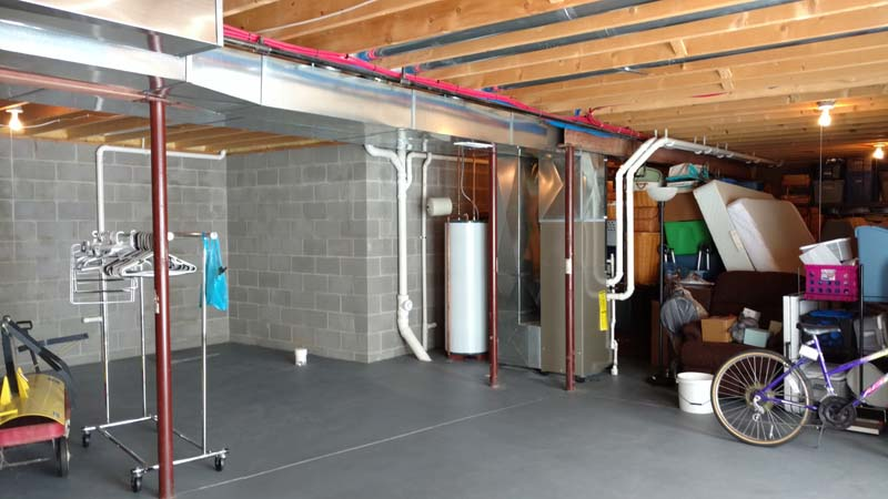basement remodel image