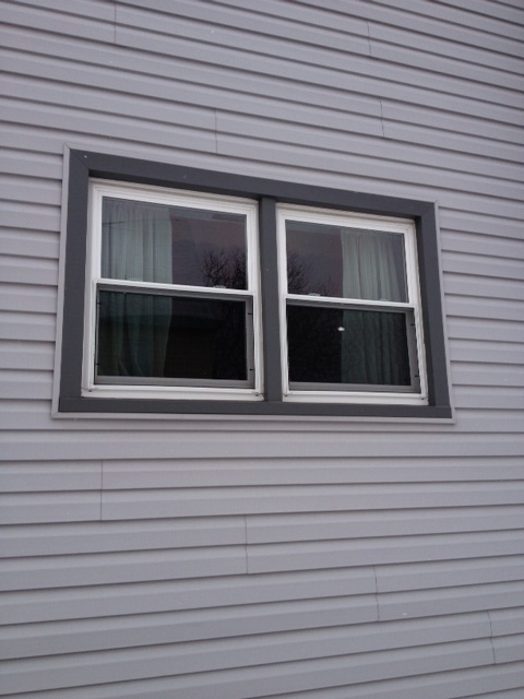 before window installation photo