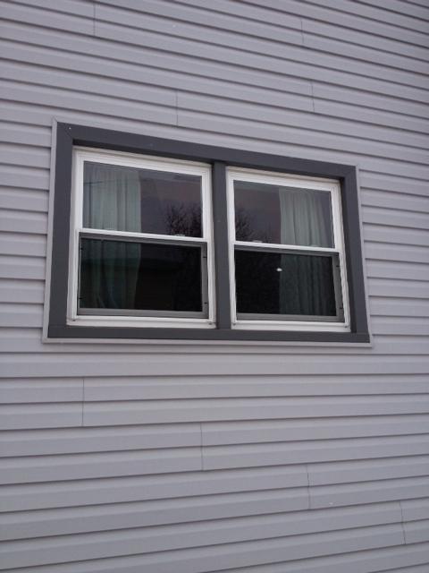 before window installation photo