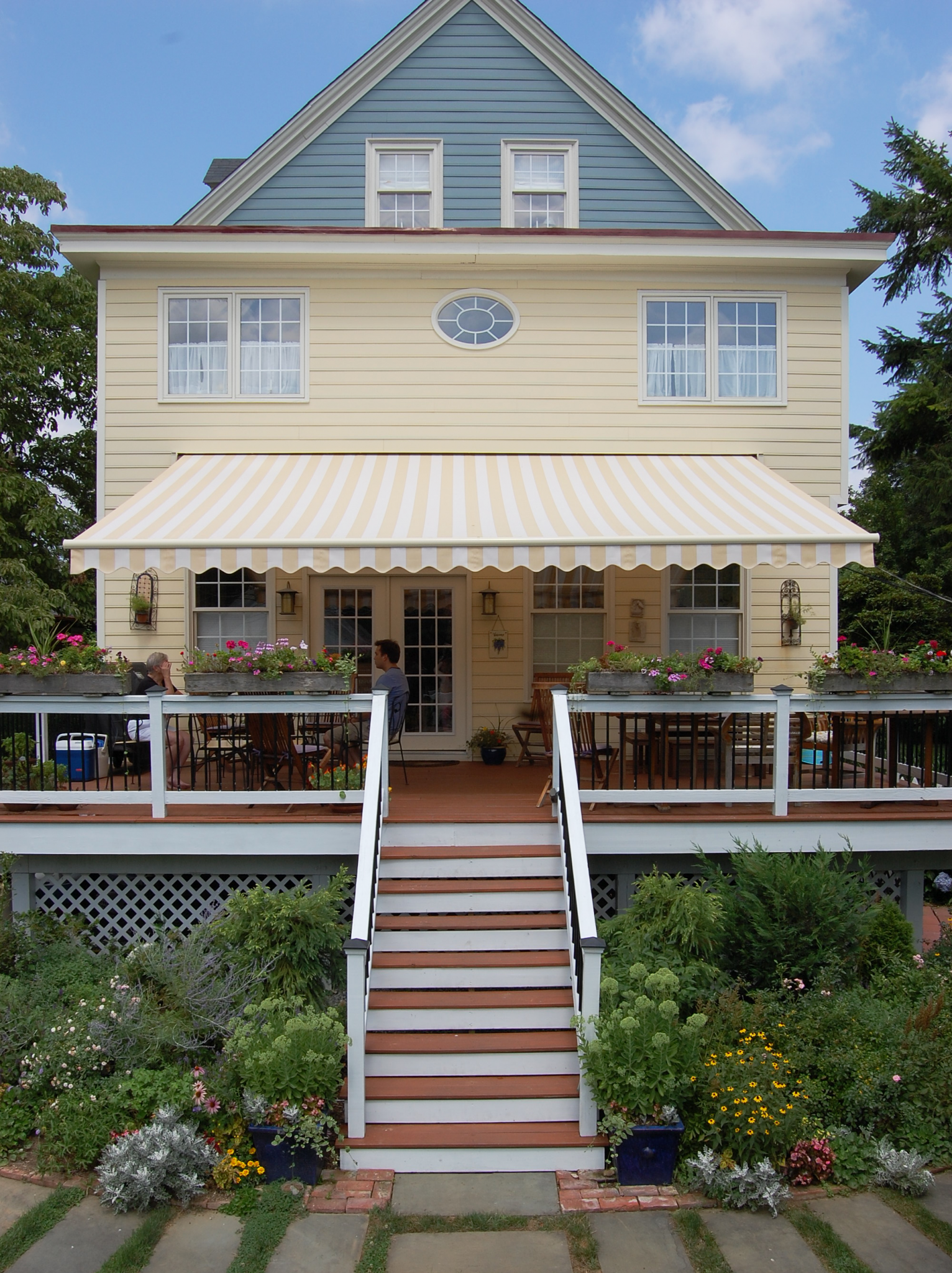 Image of an Awning Installation