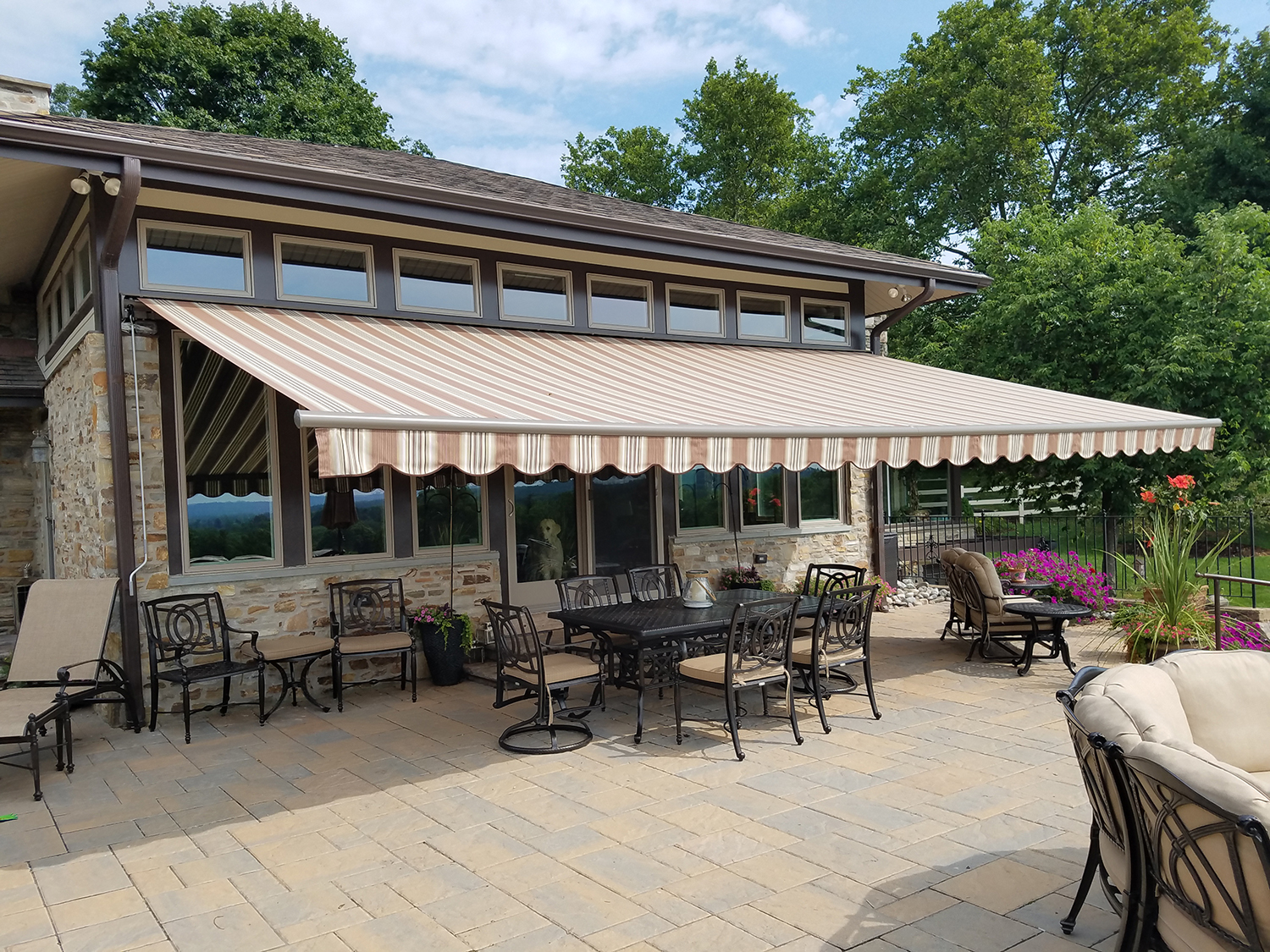 Photo of an Awning Installation