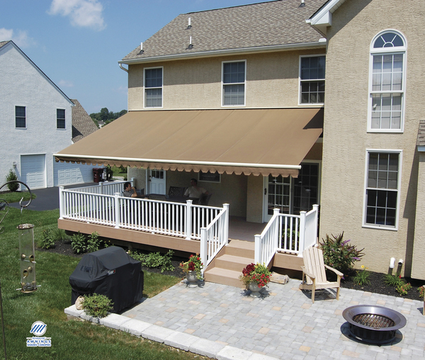 canvas awning installation photo