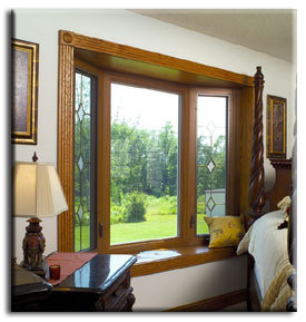 bay window install photo