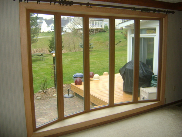 bay window installation image