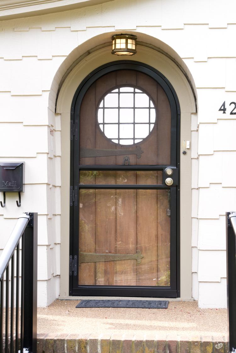 security door installation photo