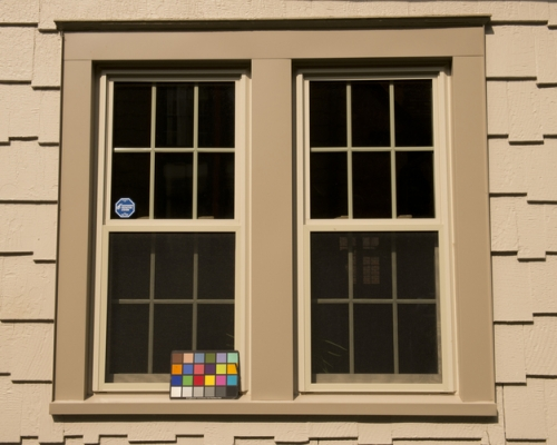 double hung window installation photo
