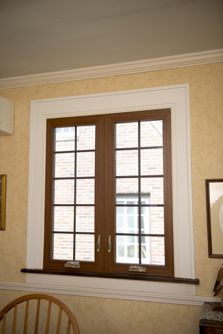 casement window installation photo