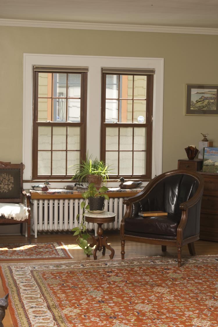 double hung window image