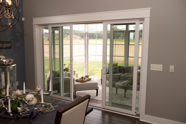 patio door installation photo
