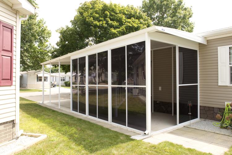 carport installation image