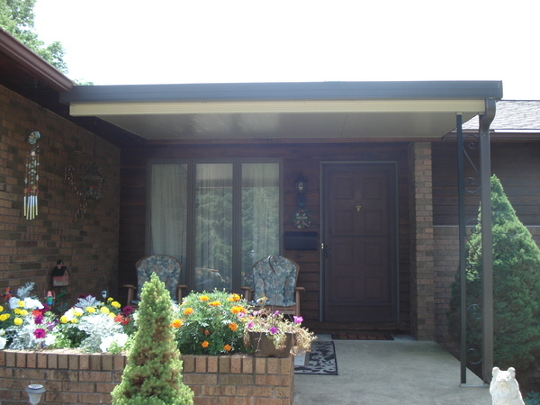 patio cover installation image