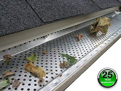 Leaf Guards Prevent Gutter Clogs From Leaves And Debris