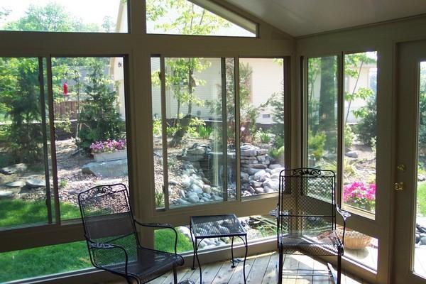 horizontal side slider window installation photo