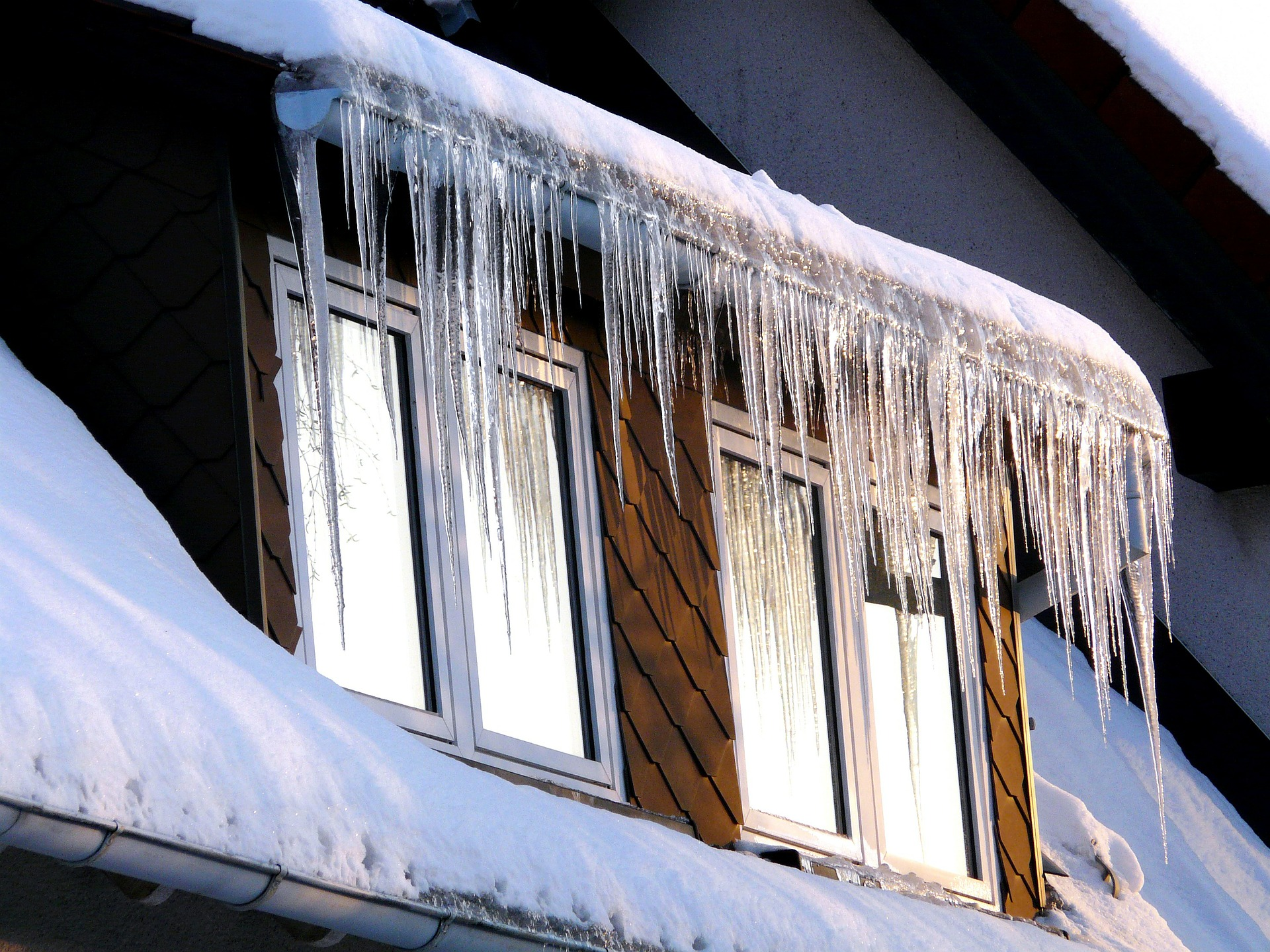 icicles on window picture