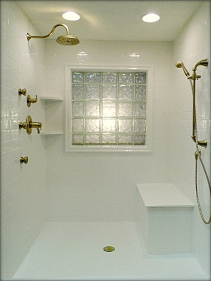 shower installation photo