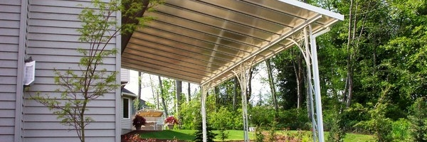 Exceptionnel ... Transparent Patio Cover Image ...