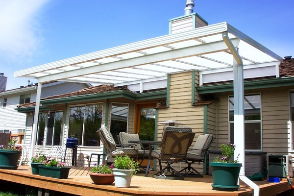 transparent patio cover image