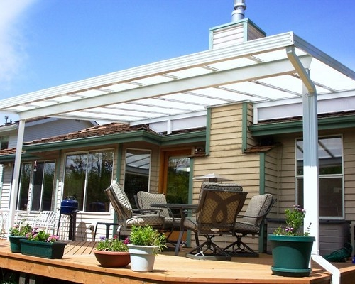 Roof Mounted Sloped Patio Cover