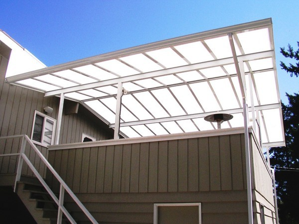 Translucent And Transparent Roof Panels Patio Covers Amp More