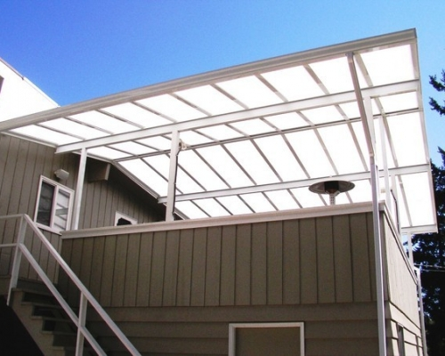 transparent patio cover photo