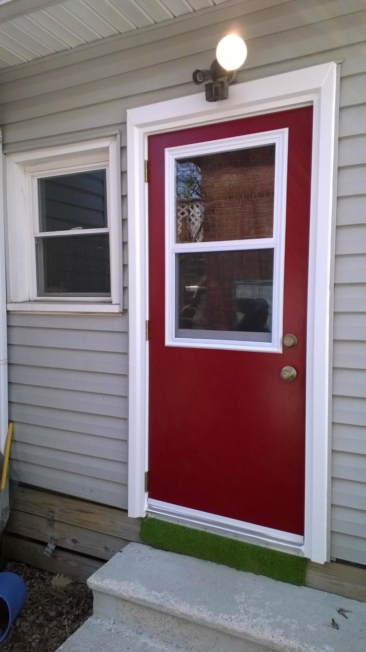 door installation image