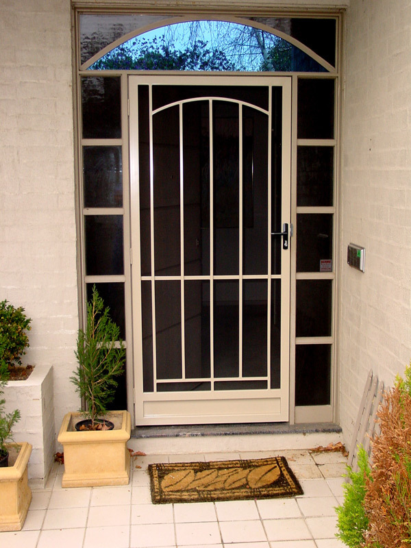 security door installation image
