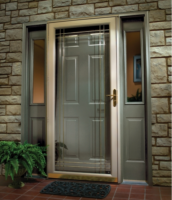 Aluminum Security Screen Door doors archives - canton aluminum