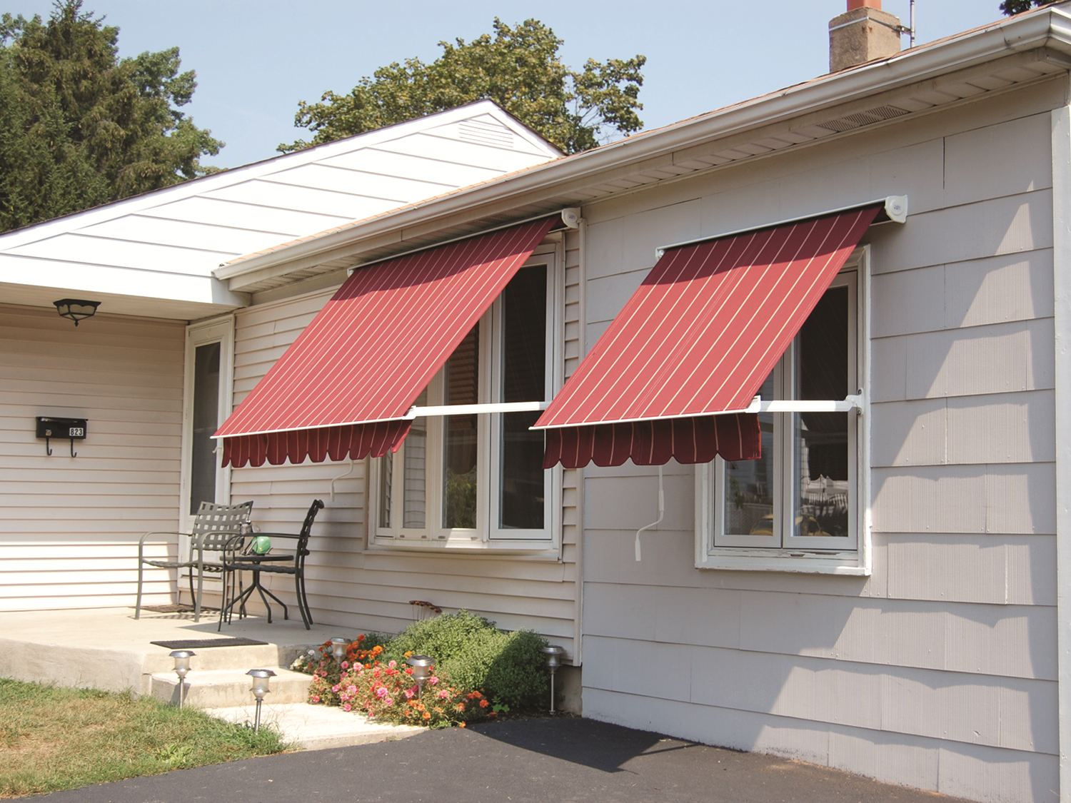 Window Awning Installation Photo